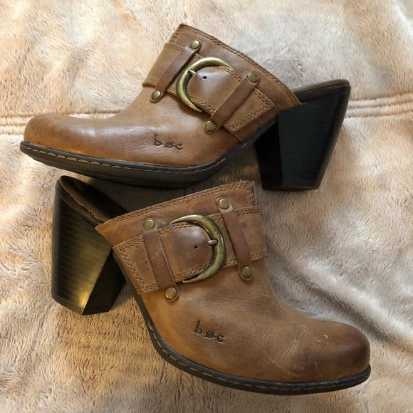Born Shoes - BORN b.o.c. Concepts Tan Mules